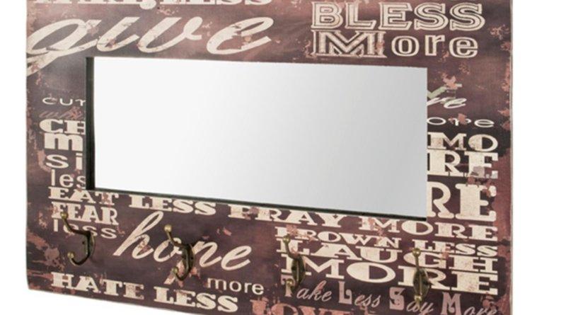 Zrcadlo s věšákem MOVE SIMPLY